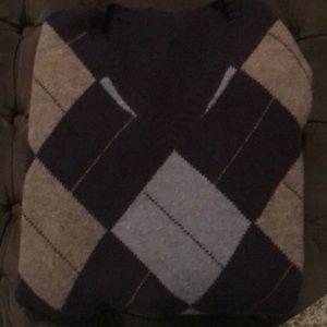 Other - Blue Argyle Sweater